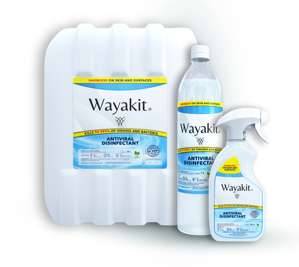 Wayakit, productos de limpieza, desinfectante, antiviral, antibacterial, cleaning products, organic cleaning products, hypoallergenic cleaning products, ecological cleaning products, disinfectant, how to clean white vans